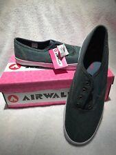 AIR WALK Airwalk Women's Medium Size 11 Sneaker Shoe EAZY Denim 83417-21 No lace
