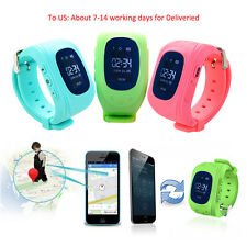 Children Smart Watch GPS Tracker SOS SIM Call GSM Kids for Android iOS Phone
