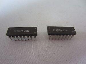 Lot De 2 500808A-B350 16-Pin Ic Processeur Cartes