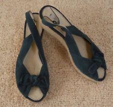 Suede Open Toe Med (1 in. to 2 3/4 in.) Heels for Women