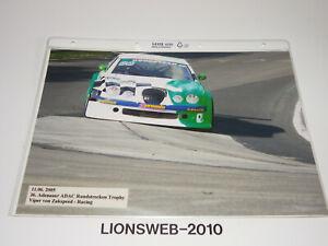 Motorsport Grossfoto Viper von Zakspeed Racing Rundstrecken Trophy 2005      #10