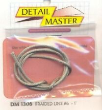DETAIL MASTER 1/24-1/25 Braided Line #6 (.080 DET1306