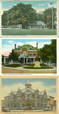 Clearfield PA Lot of 5 Country Club, Nat Bank, American Legion, Susquehanna R