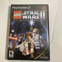 Lego Star Wars II: The Original Trilogy (PlayStation 2, PS2, 2006)video Game F/S
