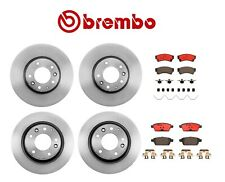 NEW Front & Rear Disc Brake Rotors and Pads Brembo KIT For Mazda 6 Ford Fusion