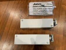 Lot of 2 JUNO Class II LED Transformers - TL602E 10W 120 12AC - Part no. 245F41