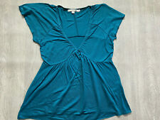 BODEN teal modal  Top  size 12    WL561
