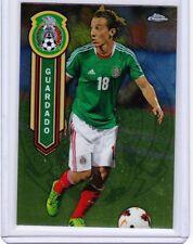 2014 Topps Chrome MLS Mexican National Team  #MEXNAG Andres Guardado