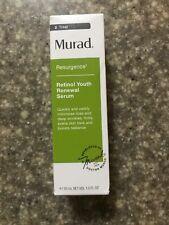 Murad Resurgence Retinol Youth Renewal Serum 1 oz 30 mL New In Box