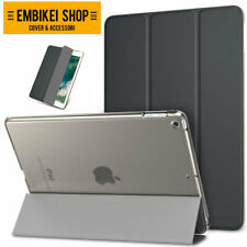 SMART COVER Integrale per Apple iPad 9.7 2017 Nera CUSTODIA SUPPORTO