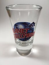 Planet Hollywood San Antonio Texas Shot Glass Tall 2 oz. Shooter