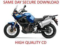 2012 Yamaha XTZ12B Super Tenere Motocycle Service Manual - PDF on CD