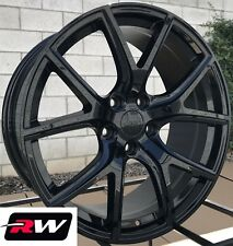 "20"" inch RW Wheels for Jeep Grand Cherokee 20x9"" Gloss Black SRT Night Rims 5x5"""