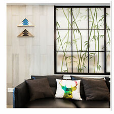 Static Cling Decorative Window Film Non Adhesive Privacy Stained Glass Film