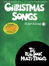 Christmas Songs Play-Along Sheet Music Real Book Multi-Tracks Volume 1 000236809