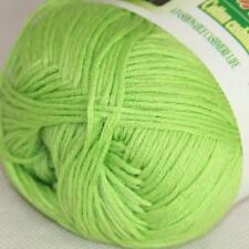 Sale New 1 Skein x 50g Soft Bamboo Cotton Baby Hand Knit  Shawls Crochet Yarn 09