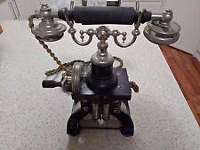 Ericsson Skeleton Stockholm Telephone Original antique