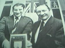 ephemera 1977 picture john stacey air vice marshall terry smith ashford top rank