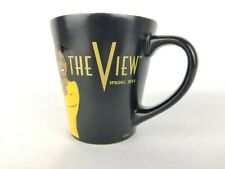 The View Coffee Mug ABC Spring 2014 Toast To Barbara 17 Seasons Black 10 oz Cup