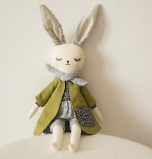 Handmade Bunny Rabbit Cloth Doll, Rag Doll,