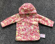 da093bcf3570 Baby Girls Floral Jacket Coat 3 - 6 Months Pink Yellow White Hood Mothercare