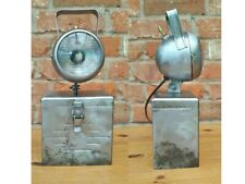 Vintage Steel Box Adjustable Desk Work Lamp/Light EX MOD PAT Tested & Rewired