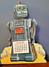 "2018 Robot Stand Up Die Cut 11 1/2"" Vintage Collectible ~ Originally was 1991"