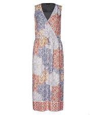 Katies wrap front tie floral romance + pockets beach party Sun dress sundress 18