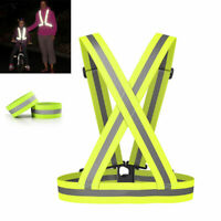 Hi Vis Belt Unisex Hi Vis Strap Safety Runner Shoulde High Visibility Belt USA