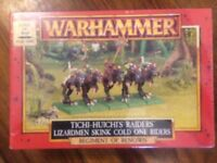 Dogs Of War Tichi -Huichi's Raiders New Sealed Regiment Of Renown WARHAMMER