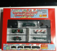 Micro-Trains Lines 99421030 Z Scale Sugarland Peppermint Company Train Set NIB🔥