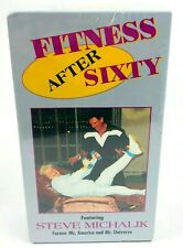 Fitness After Sixty VHS Tape