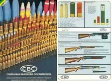 CBC 1987 Cartouchos Brazil Ammunition and Special Guns