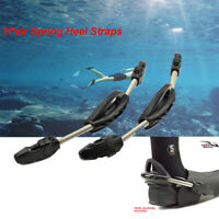 Quick Release Buckle Snorleling Spring Heel Straps Scuba Diving Stainless Steel