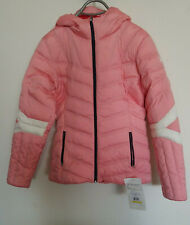 Spyder Womens Vintage Hoody Synthetic Down Jacket X-Small Red//White