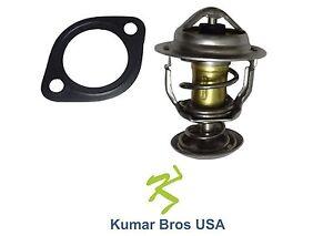 New Kubota L3800DT L3800F L3800HST Thermostat & Gasket 160°F