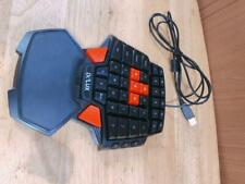 DELUX One-handed Gaming Keyboard T9 Windows2000/XP/VISTA/7/8 USB2.0