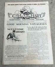 TRAGIC SS NORONIC 1929 ONBOARD NEWSPAPER CANADA STEAMSHIP LINES 118 LOST IN 1949