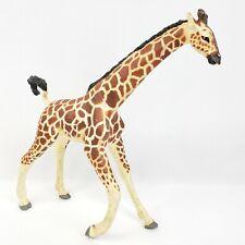 "Vanishing Wild Reticulated Adult Female Giraffe Figure 1992 Safari Ltd 11"" Inch"