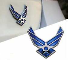 3D Air Force Wings airman Metal Car Auto Emblem sticker decal badge USAF Logo