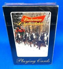 Budweiser Clydesdale Playing Cards Vegas Brand New Sealed Cards 2009 D
