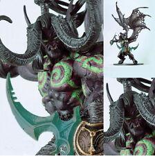 World of Warcraft Demon Form illidan Stormrage Toy Figure Doll 100% New In Box