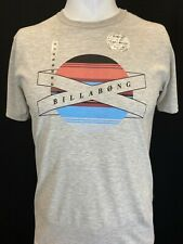 New Billabong Wrapped Circle Men's Short Sleeve T-Shirt, Mult Colors, S-L, Slim