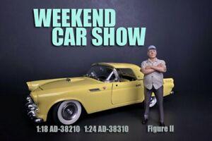 WEEKEND CAR SHOW FIGURE II AMERICAN DIORAMA 38210 1/18 scale Figurine