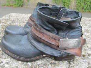A.S.98 ♥ AS98 Airstep ♥ rockige Boots  39 ♥ blau ♥ MEGA ♥ NEU mit Etikett ♥
