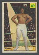 1955-56 Parkhurst Wrestling Card #89 Bates Ford