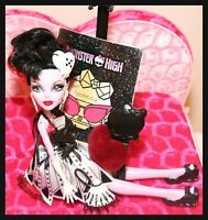 ❤️Monster High Operetta Frights Camera Action Hauntlywood Doll DIARY & Outfit❤️