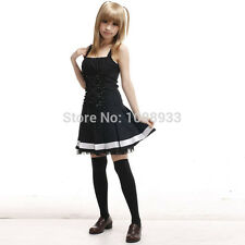 Anime Death Note costume adult misa amane cosplay Gothic Lolita Fancy dress Up