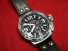 TW STEEL TW78 CHRONOGRAPH 10ATM MADE OF SOLID STAINLESS STEEL TACHYMETER BEZEL