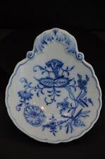 Meissen Blue Onion Porcelain Spoon Rest